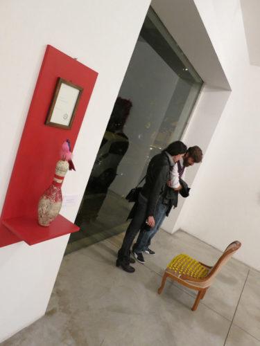 "Sabrina D'Alessandro, ""URPS"", Galleria Cesare Manzo, Pescara 2013"