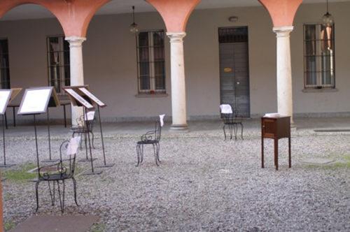 """Sabrina D'Alessandro, """"Ufficio Resurrezione Parole Smarrite"""", Palazzo Nicolini, Varese 2011"""