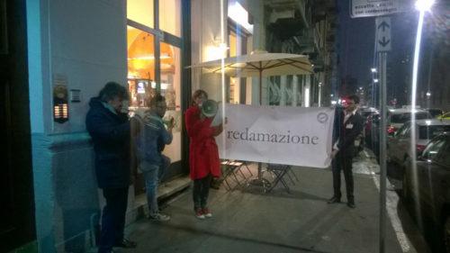 """Sabrina D'Alessandro, """"Redamazione"""", Art Night Out, Ufficio Resurrezione, Milano 2015"""
