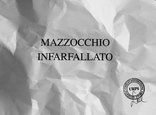 """Sabrina D'Alessandro, """"MAZZOCCHIO INFARFALLATO"""", video 2015, URPS, Ufficio Resurrezione Parole Smarrite, Divisione Mutoparlante, SkyArte 2016"""