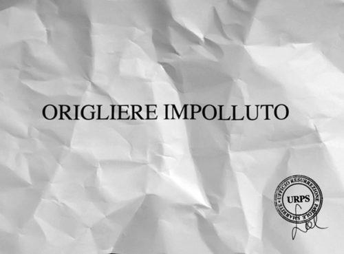 """Sabrina D'Alessandro, """"ORIGLIERE IMPOLLUTO"""", video 2015, URPS, Ufficio Resurrezione Parole Smarrite, Divisione Mutoparlante, SkyArte 2016"""